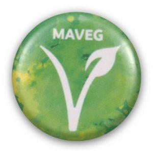 Maveg Vegán kitűző